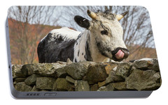 Portable Battery Charger featuring the photograph Nosey by Bill Wakeley