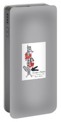 Portable Battery Charger featuring the digital art Nostalgia by ReInVintaged