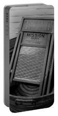 Nostalgia - Wash Board Portable Battery Charger by Lori Seaman