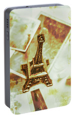 Nostalgic Mementos Of A Paris Trip Portable Battery Charger by Jorgo Photography - Wall Art Gallery