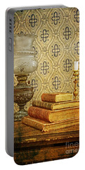 Portable Battery Charger featuring the photograph Nostalgic Memories by Heiko Koehrer-Wagner