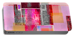 Portable Battery Charger featuring the digital art Not All In Heaven I Have Hated by Danica Radman