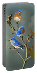 Nothing But Bluebirds Portable Battery Charger