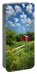 Noticing The Days Hurrying By Portable Battery Charger by Phil Koch