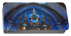 Notre Dame Basilica Portable Battery Charger by John Schneider