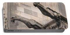 Notre Dame Cathedral Gargoyles Portable Battery Charger