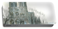 Notre Dame Cathedral In March Portable Battery Charger