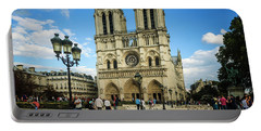 Notre Dame Cathedral Portable Battery Charger