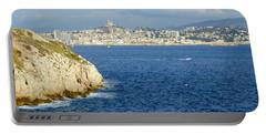 Notre Dame De La Garde Marseille  Portable Battery Charger