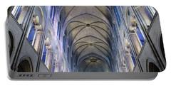 Notre Dame De Paris - A View From The Floor Portable Battery Charger