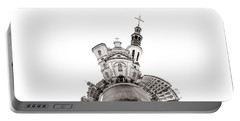 Notre-dame De Quebec Basilica-cathedral - Tiny Planet Portable Battery Charger