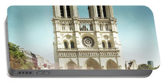 Notre Dame Portable Battery Charger by Hannes Cmarits