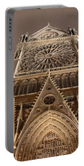 Portable Battery Charger featuring the photograph Notre Dame North by Christopher Kirby