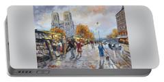 Notre Dame, Paris Portable Battery Charger