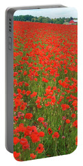 Nottinghamshire Poppies Portable Battery Charger
