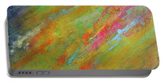 Nova Brillante. Abstract Acrylic Painting. Portable Battery Charger