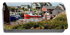 Nova Scotia Fishing Community Portable Battery Charger