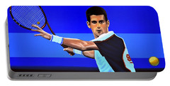 Novak Djokovic Portable Battery Charger