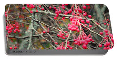 November Crabapples Portable Battery Charger