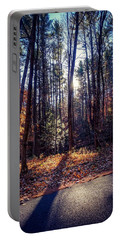 Portable Battery Charger featuring the photograph November Light by Kendall McKernon