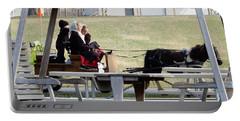 November Pony Cart Fun Portable Battery Charger