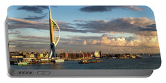 November - Portsmouth Harbour Portable Battery Charger by Shirley Mitchell