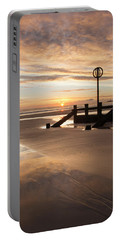 November Sunrise - Portrait Portable Battery Charger