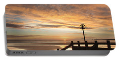 November Sunrise Portable Battery Charger