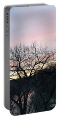 November Sunset Portable Battery Charger