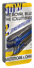 Now The Royal Blue The Columbian Portable Battery Charger