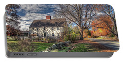 Noyes House In Autumn Portable Battery Charger