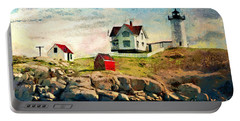 Nubble Light - Painted Portable Battery Charger