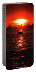 Nuclear Miami Sunset Portable Battery Charger