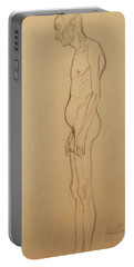 Nude Man Portable Battery Charger