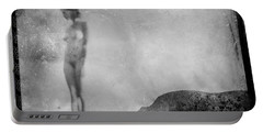 Nude On The Fence, Galisteo Portable Battery Charger