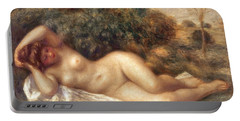Nude Portable Battery Charger by Pierre Auguste Renoir
