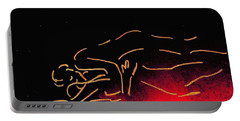 Nude Sleeping Couple Portable Battery Charger
