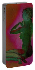 Nude Woman Portable Battery Charger by Svelby Art