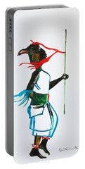 Nuer Dance - South Sudan Portable Battery Charger