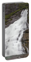 Portable Battery Charger featuring the photograph Nugget Falls, Alaska by Ed Clark