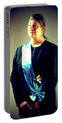 Number One A Portrait By Jason Hunter Portable Battery Charger