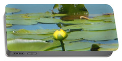 Nuphar Lutea Yellow Pond Portable Battery Charger