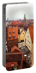 Nuremberg Cityscape Portable Battery Charger