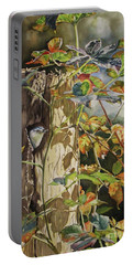 Nuthatch And Creeper Portable Battery Charger