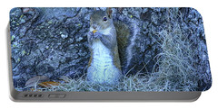 Portable Battery Charger featuring the photograph Nuts Anyone by Deborah Benoit