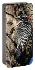 Nuttall's Woodpecker Portable Battery Charger