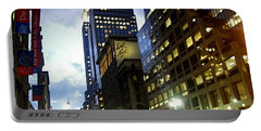 Nyc Fifth Ave Portable Battery Charger by Vannetta Ferguson