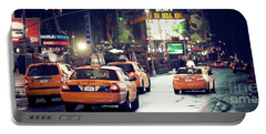 New York City Night Drive Portable Battery Charger