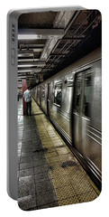 Nyc Subway Portable Battery Charger by Martin Newman