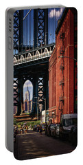 Nyc Summer Postcard Portable Battery Charger